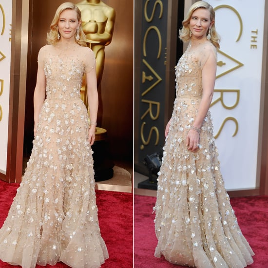 Vote: Cate Blanchett Sparkles on the Oscars Red Carpet
