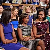When Michelle Had Them Both Cracking Up in 2012