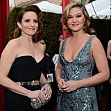 Tina Fey and Julia Stiles