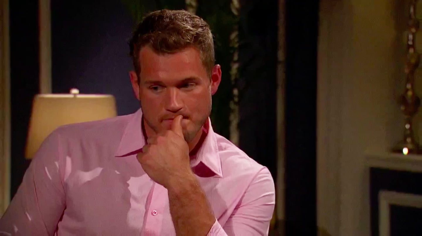 Why Did Becca Walk Away From Colton On The Bachelorette Popsugar