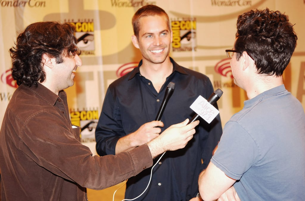 Paul Walker spoke to reporters during a Wonder Con event in San Francisco in February 2006.