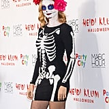 Heather Graham as a Skeleton
