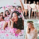 50 Bridal Shower Theme Ideas  Wedding season brings the ultimate girl-bonding events: bridal showers and bachelorette parties. And depending on if you're the bride-to-be, a bridesmaid, the sister of the bride, or just the party planner in your group of girlfriends, you may be brainstorming bridal party theme ideas this season. Well, we're here to help! We've scoured our favorite big-day blogs for 50 of the most fun, creative, and pretty party themes, perfect for a bridal shower or bachelorette party. Check them out now!