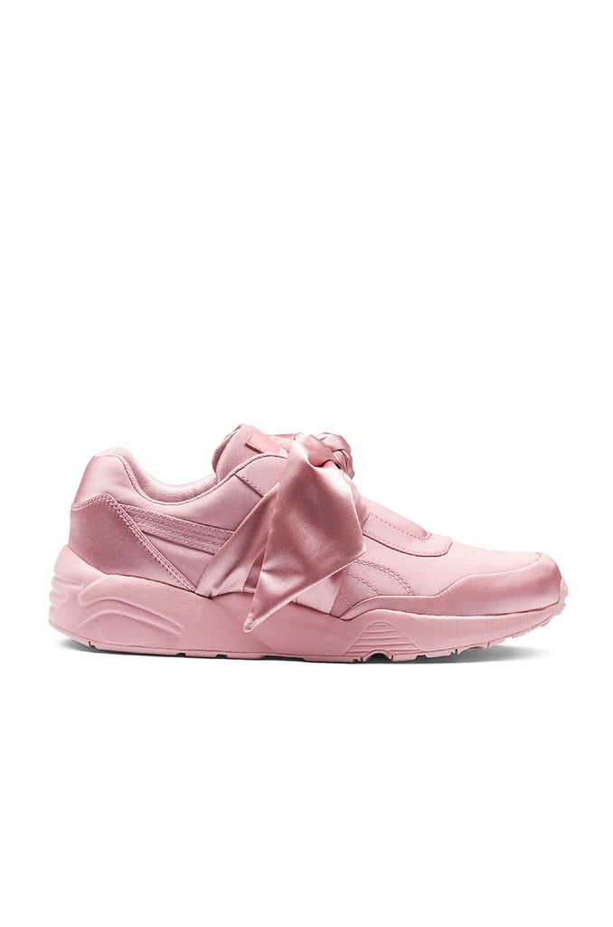 Rihanna's Fenty x Puma Bow Satin Sneakers ($160) are the perfect blend of sporty and feminine.