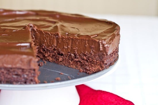 Chilled Vegan Double Chocolate Torte