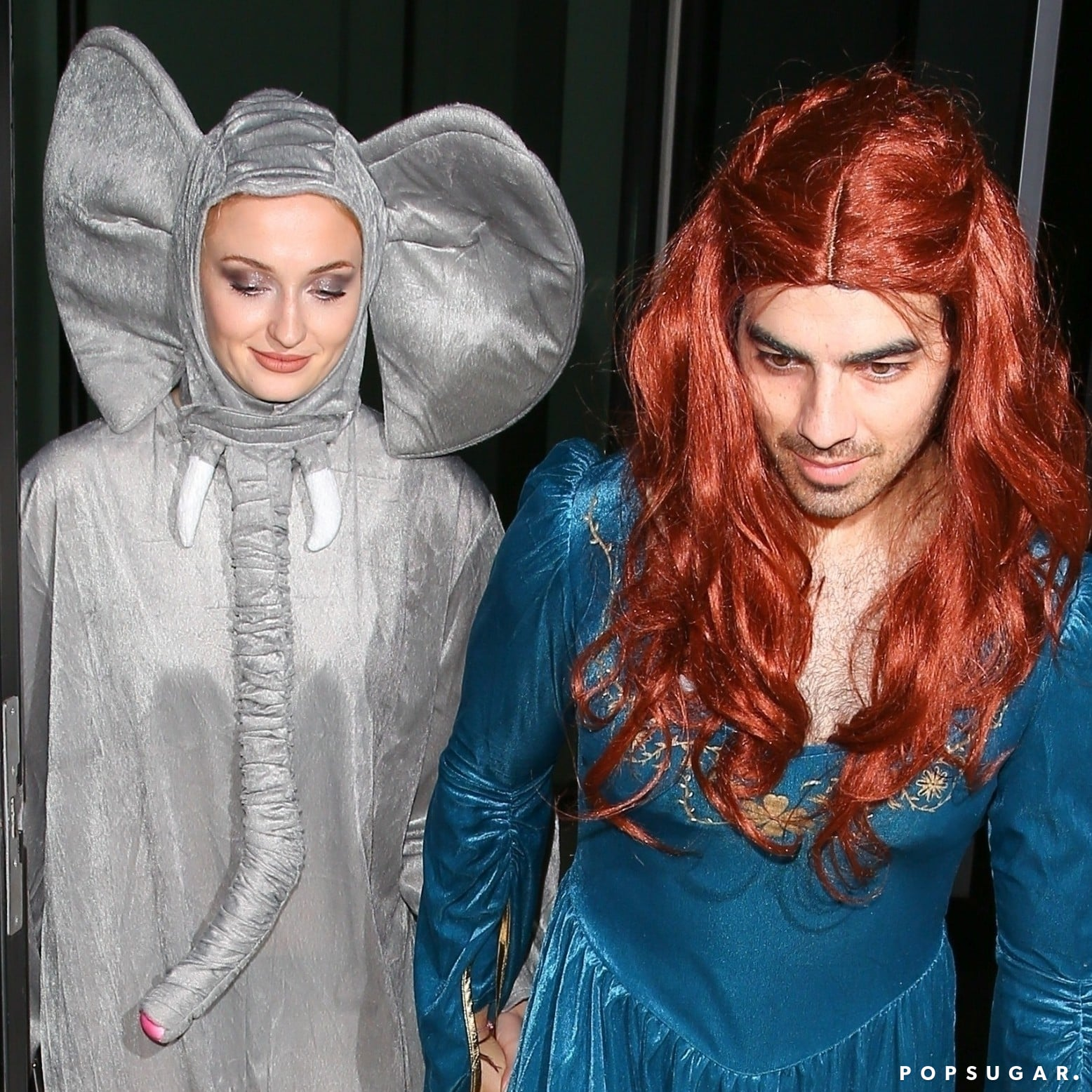 Risultati immagini per joe jonas dressed up as sansa stark