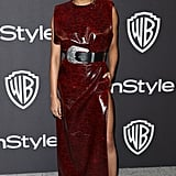 Sonequa Martin-Green at the 2019 Golden Globes Afterparty
