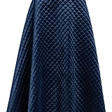 Quilted Velour Circle Midi Skirt