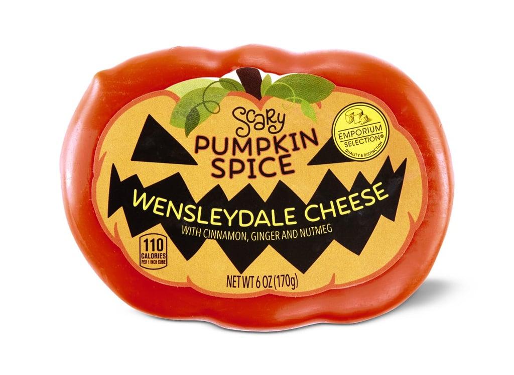 Aldi's Scary Pumpkin Spice Wensleydale Cheese