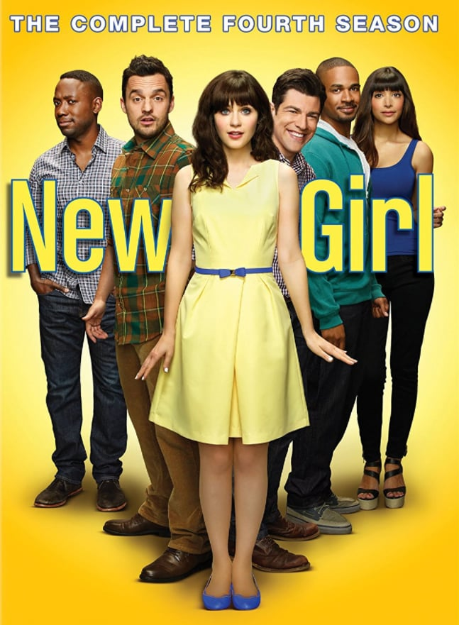 New Girl: The Complete Fourth Season DVD ($30)