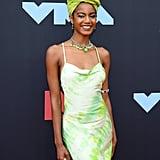 Ebonee Davis at the 2019 MTV VMAs