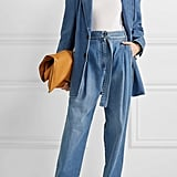 Tibi Oversized Denim Blazer