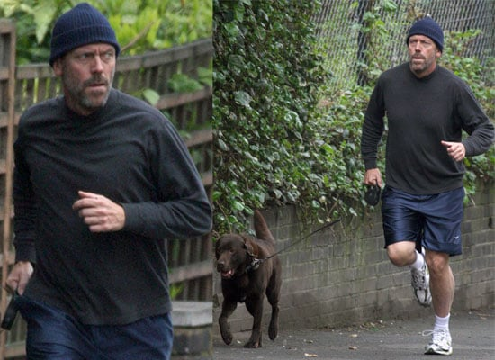 20/04/2009 Hugh Laurie Jogging
