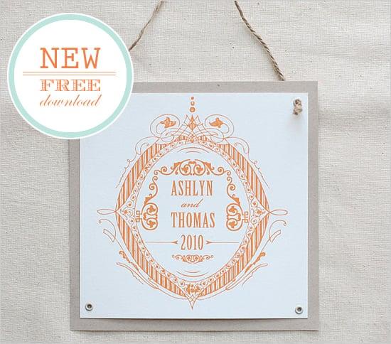 Formal Crest Custom Monogram