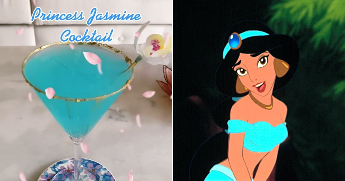 These Disney Princess-Inspired Cocktails From TikTok Are Pure Magic