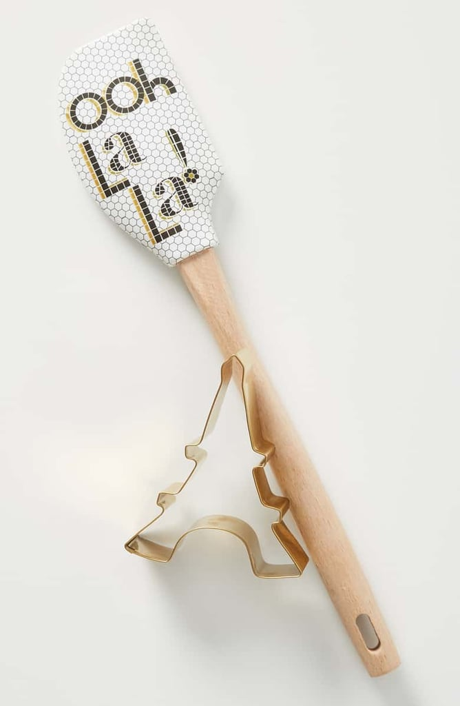 Anthropologie Bistro Spatula & Cookie Cutter