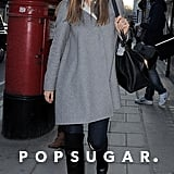 Jessica Biel strolled through the London streets.