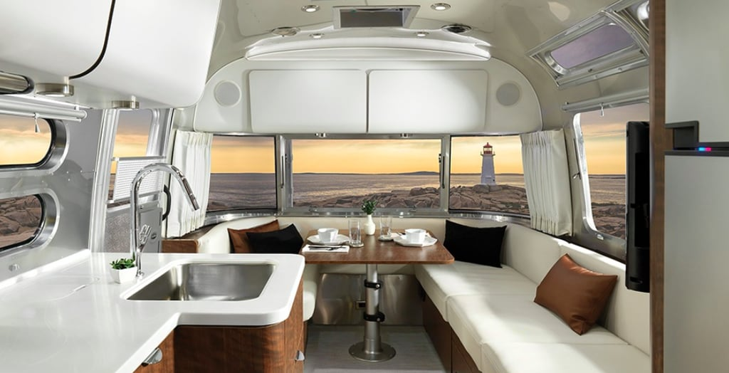 This $129K Airstream Is a Shockingly Luxurious Way to Travel