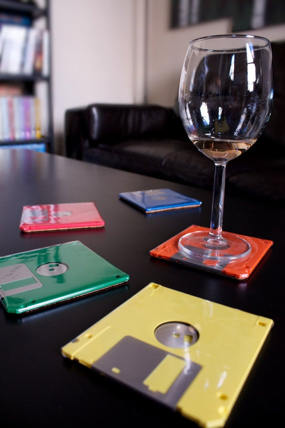Create geek-chic coasters