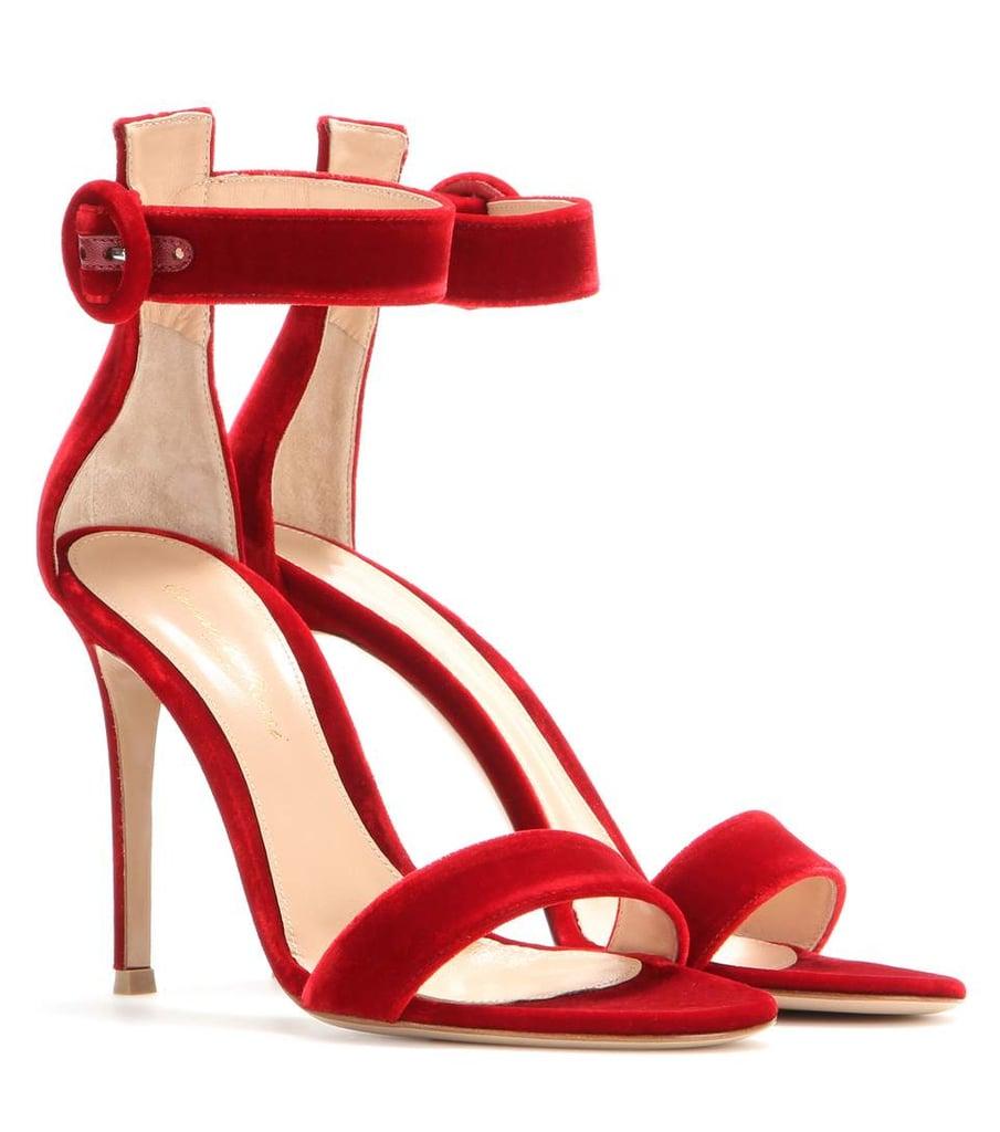 Our Pick: Gianvito Rossi Velvet Sandals
