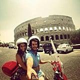 Ride a Vespa Around Rome