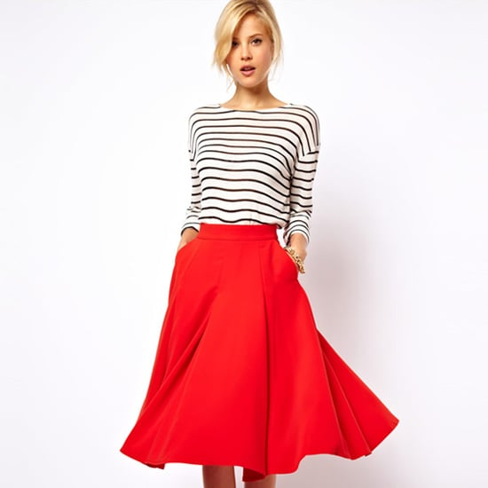How to Wear Midi Length Skirts | Shopping