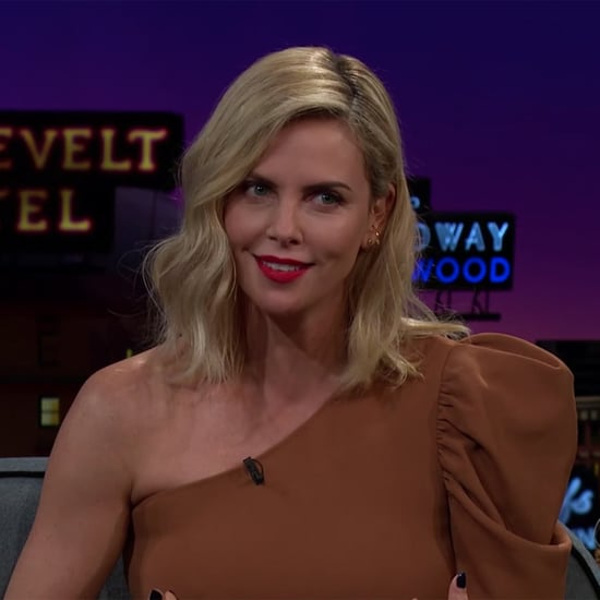 Charlize Theron Talks Bachelor Obsession on Late Late Show