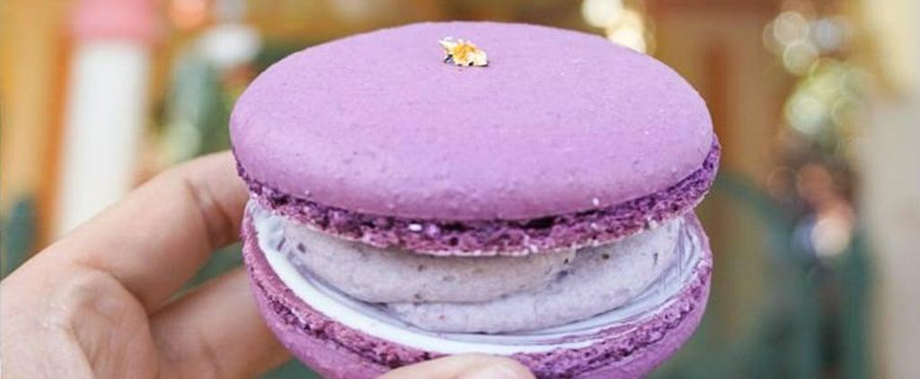 Disneyland Lunar New Year Purple Sweet Potato Macaron