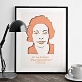 Coretta Scott King Quote Poster