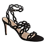 Laser-Cut High Heel Sandal