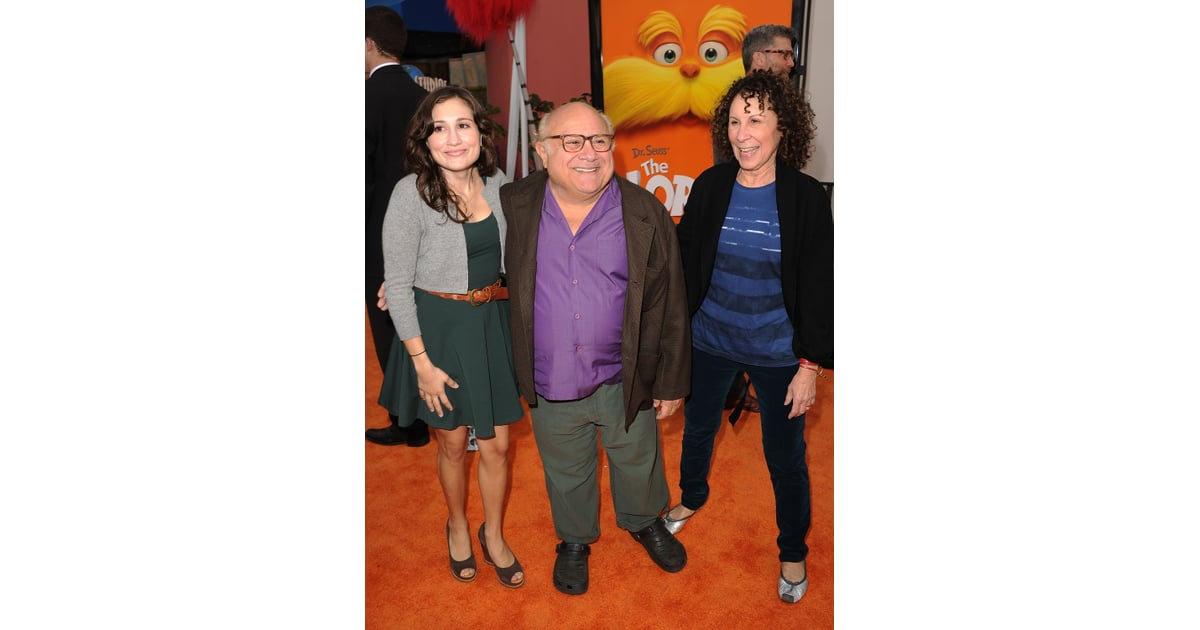 danny devito posed with friends before going in to see the. Black Bedroom Furniture Sets. Home Design Ideas