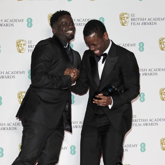 2020 BAFTAs: Micheal Ward and Daniel Kaluuya's Bromance