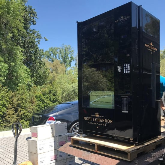 Kris Jenner's Moet & Chandon Champagne Vending Machine