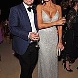 Alan Carr and Melanie Sykes