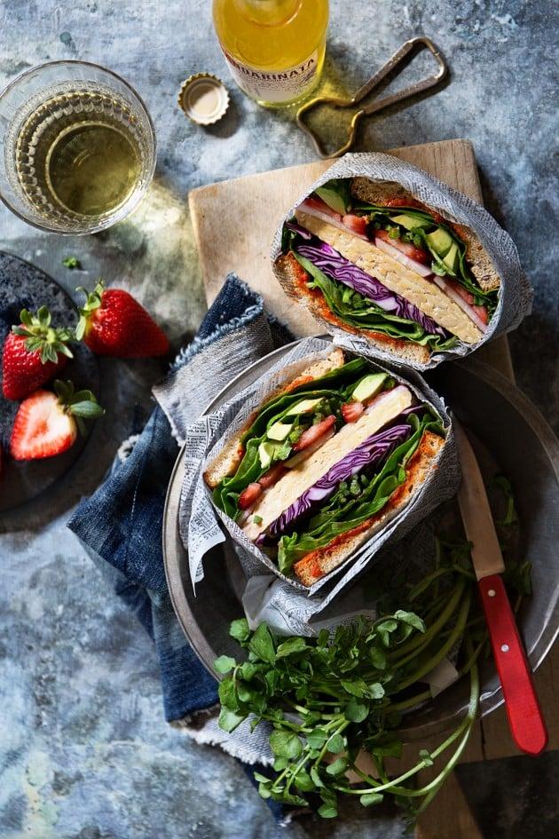 Ultimate veggie sandwich vegetarian sandwich fillings ideas and ultimate veggie sandwich forumfinder Image collections