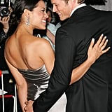 Rosario Dawson and Jason Lewis, 2006