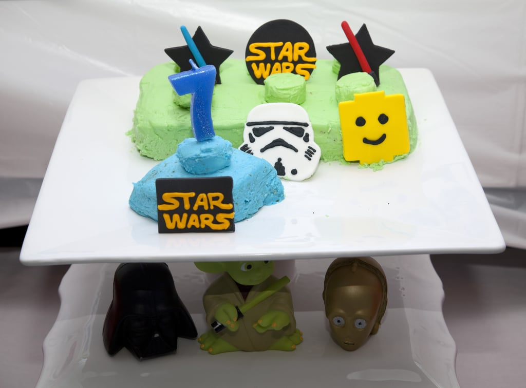 Cake! | Star Wars Lego Bowling Boys Birthday Party | POPSUGAR Moms ...