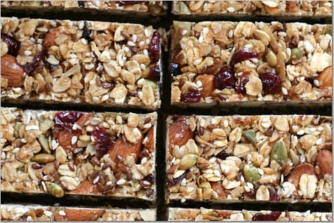 Yummy Link: Homemade Granola Bars