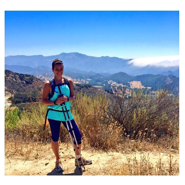 Lea Michele got yet another hike on.