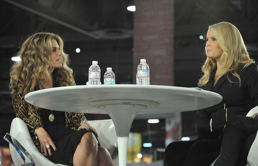 Jessica Simpson at the Annual Women's Conference