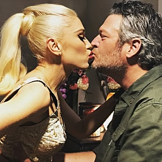 Gwen Stefani and Blake Shelton Instagrams