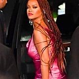 Rihanna's Long Knotless Box Braids (Color 35)
