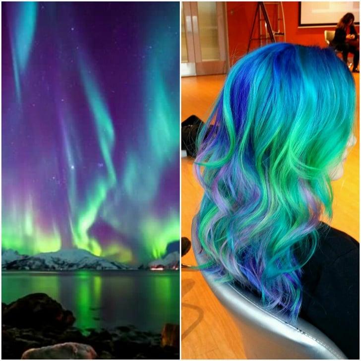 Aurora Borealis Hair Color Ideas Popsugar Beauty