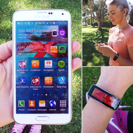 Review of Samsung Galaxy S5 and Fitness Tracker Gear Fit