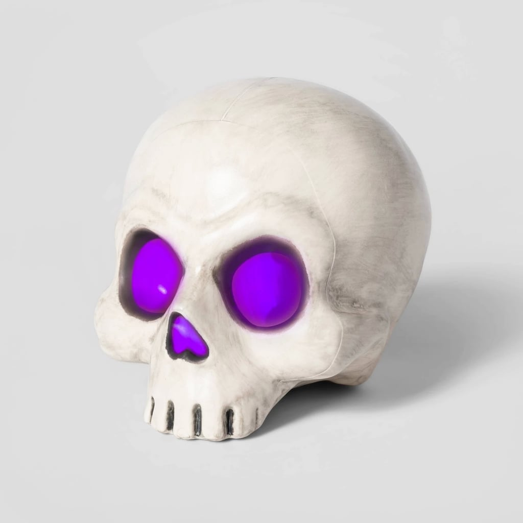 Color Changing Light-Up Skull