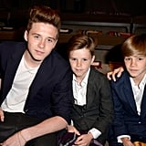 What Fashion Show? The Beckhams Steal the Spotlight From Burberry's Front Row