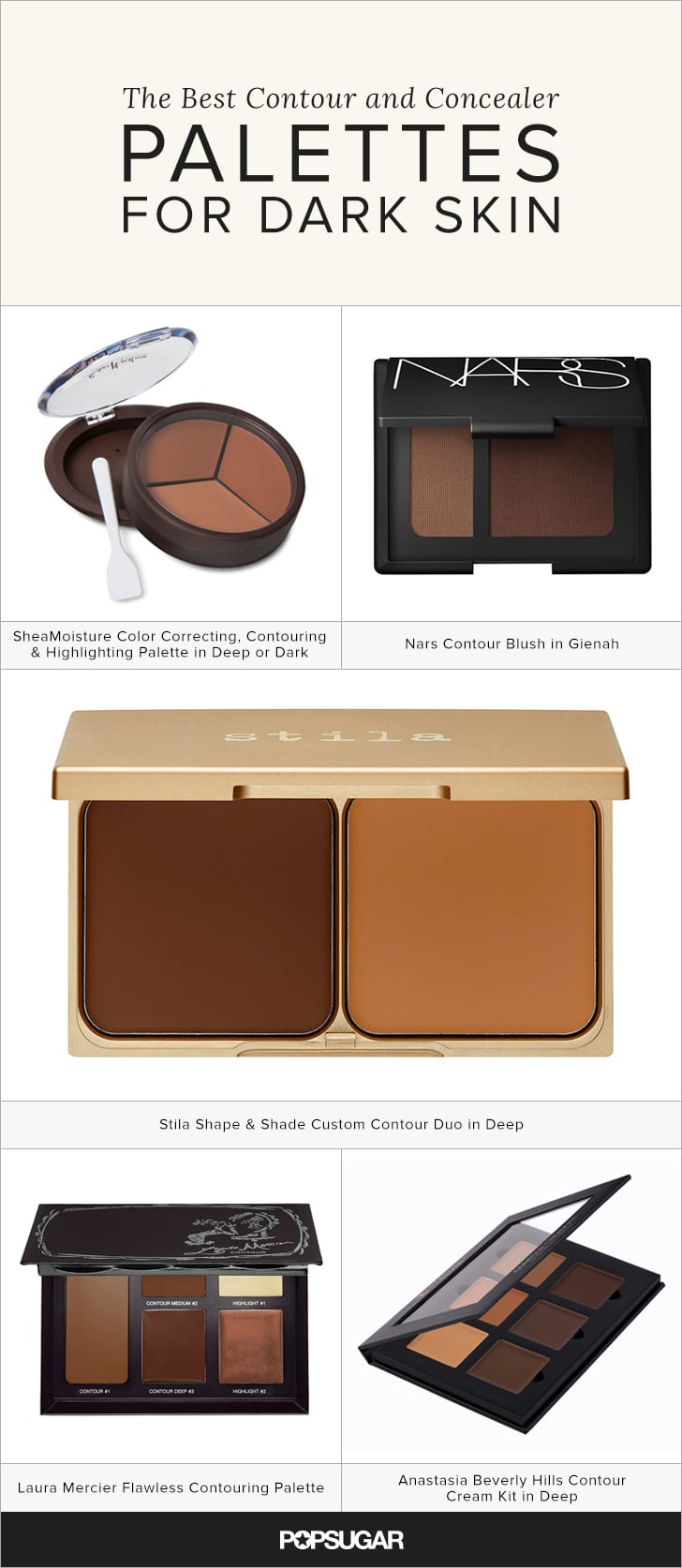 Contour For Less Nyx Cosmetics: Contour Products For Dark Skin