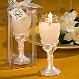 Champagne Flute Candle Wedding Favors