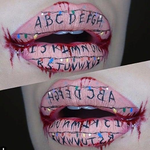 Halloween Lip Art