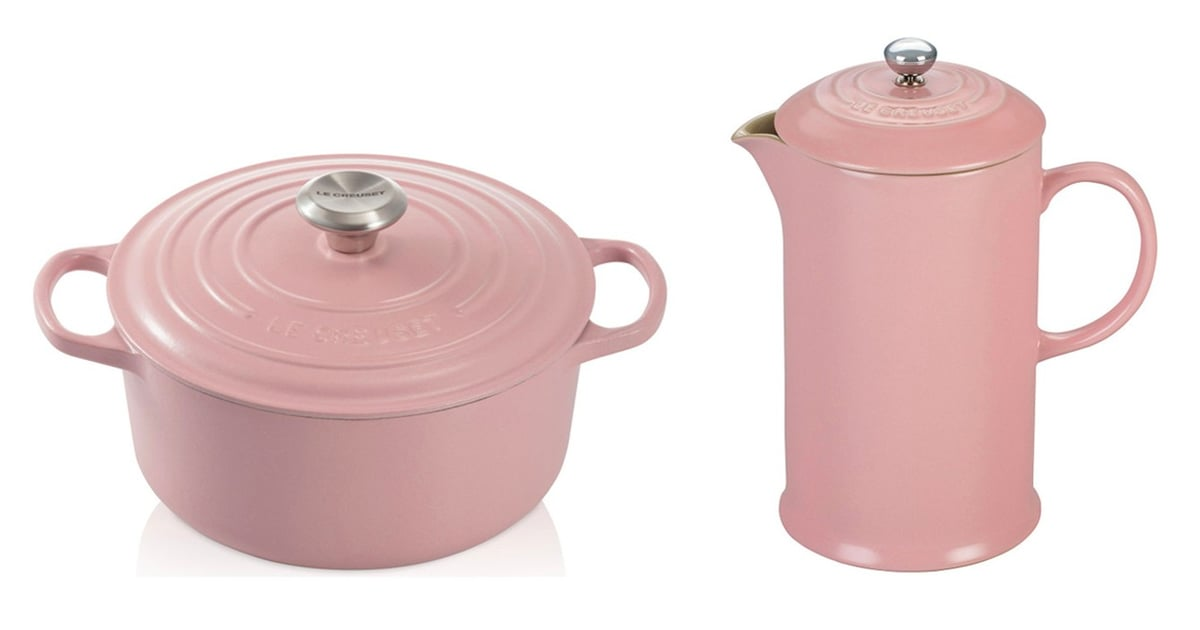 Le Creuset Released an Entire Millennial Pink Collection, and OMG, It's Gorgeous
